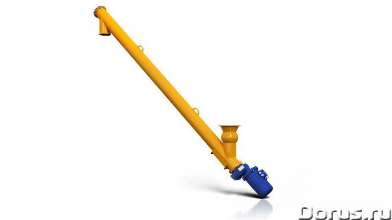 Шнек для цемента POFER 219/4000 - Промышленное оборудование - Шнековый питатель с диаметром трубы 21..., фото 1
