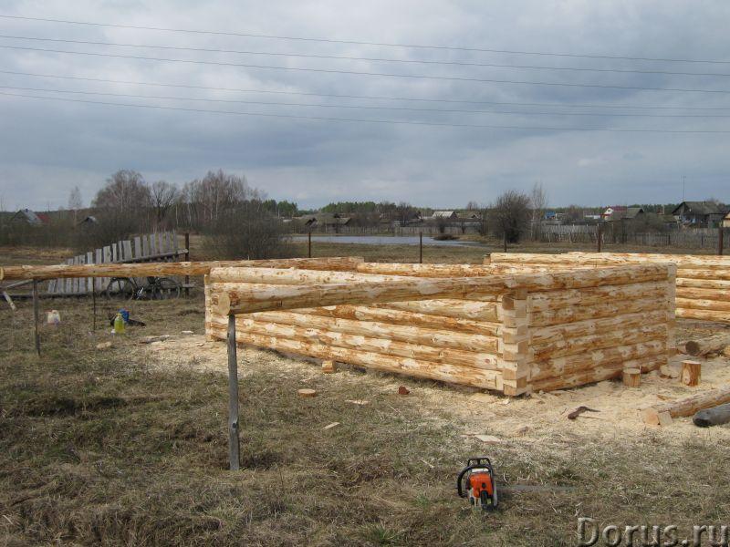 Сруб 3x6 из зимнего леса - Материалы для строительства - Продаю сруб 3*6 зимний лес, высота 2.2 м. Д..., фото 1