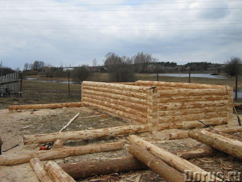 Сруб 3x6 из зимнего леса - Материалы для строительства - Продаю сруб 3*6 зимний лес, высота 2.2 м. Д..., фото 2
