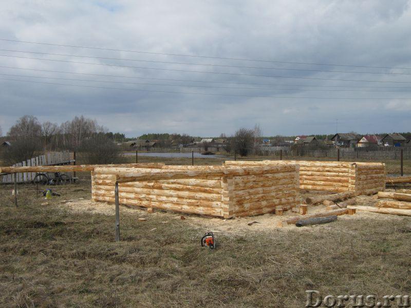 Сруб 3x6 из зимнего леса - Материалы для строительства - Продаю сруб 3*6 зимний лес, высота 2.2 м. Д..., фото 3