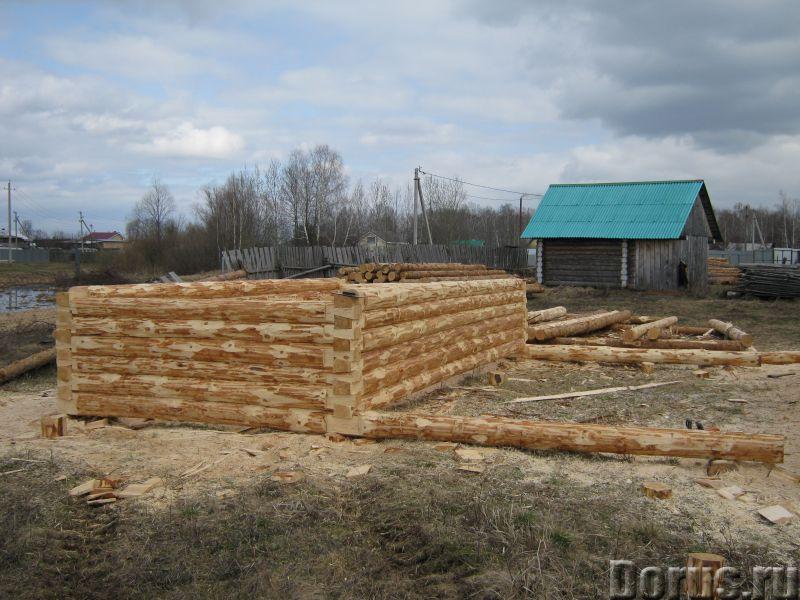Сруб 3x6 из зимнего леса - Материалы для строительства - Продаю сруб 3*6 зимний лес, высота 2.2 м. Д..., фото 4